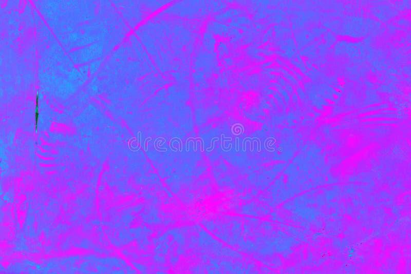 Fondo rosado púrpura abstracto Pintura en el hierro Textura del primer fotografía de archivo