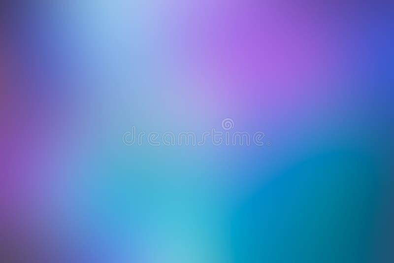 Fondo rosado púrpura azul de la pendiente del color en colores pastel del fondo simple del movimiento para el diseño del verano imagen de archivo libre de regalías