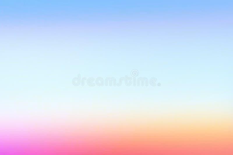 Fondo rosado púrpura en colores pastel simple de la pendiente para el diseño del verano stock de ilustración