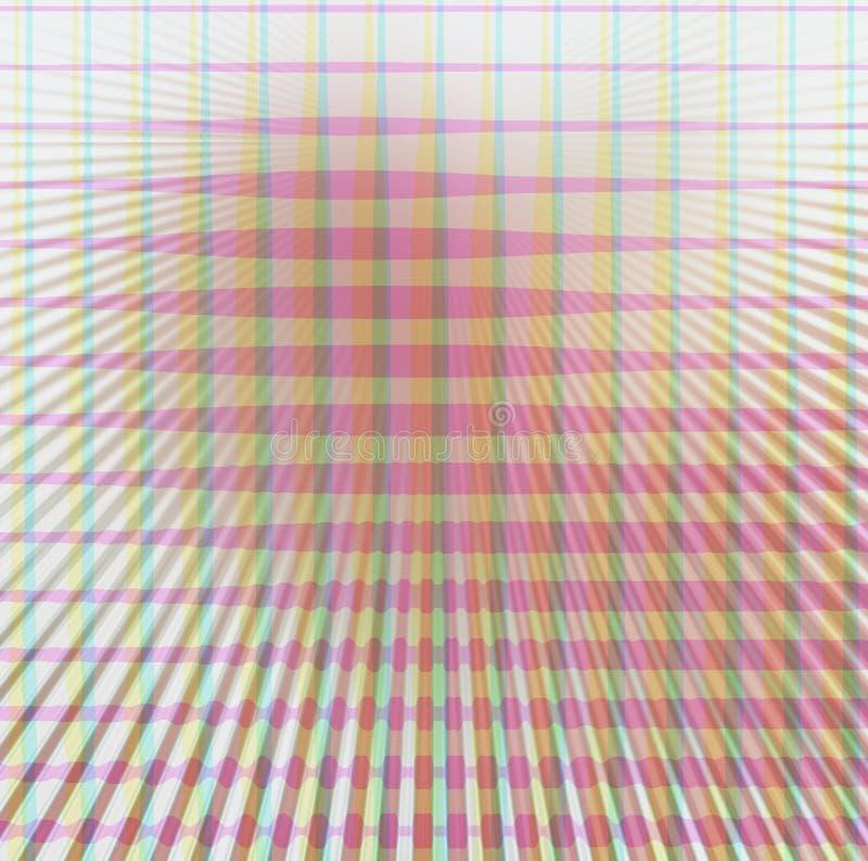 Fondo rosado y verde ilustración del vector