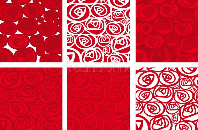 Fondo rosas (vector) vector illustration