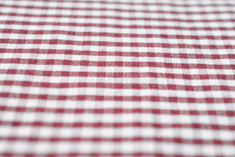 Fondo rosso del cotone del percalle del tessuto fotografia stock