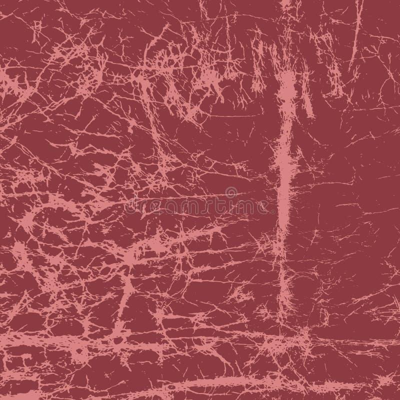Fondo rosso di lerciume illustrazione vettoriale