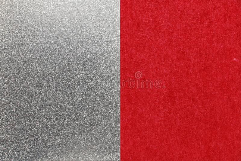 Fondo rosso di struttura della carta d'argento del nuovo anno giapponese fotografia stock