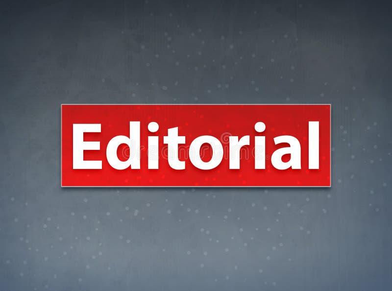 Fondo rosso editoriale dell'estratto dell'insegna illustrazione vettoriale