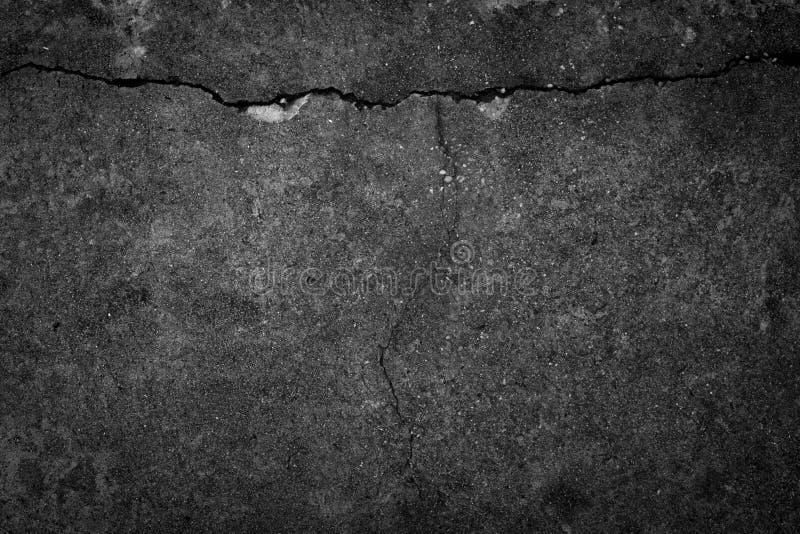 Fondo roto textura concreta de la grieta imagenes de archivo