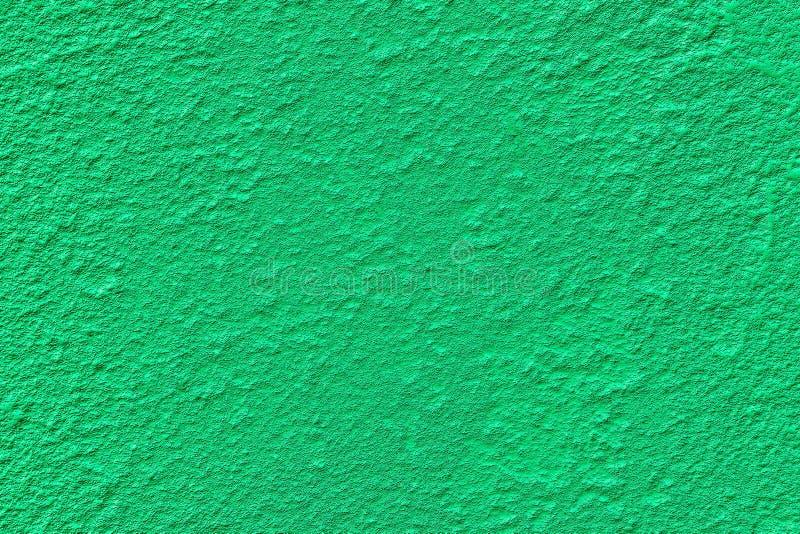 Fondo rustico del vecchio del fondo muro di cemento verde di struttura fotografia stock libera da diritti