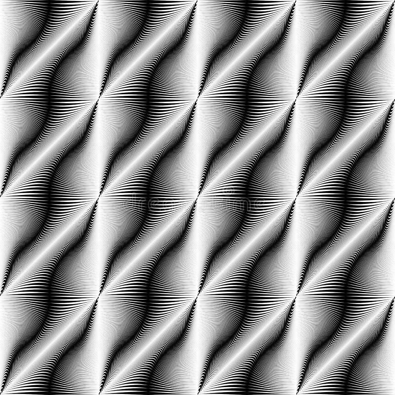 Fondo sagrado moderno de la geometría Modelo abstracto del vector stock de ilustración
