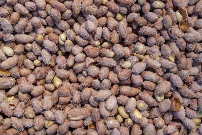 Fondo salato delle arachidi immagini stock