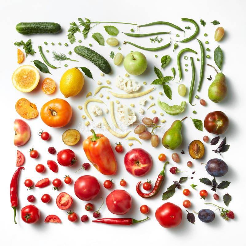 Fondo sano di cibo immagine stock