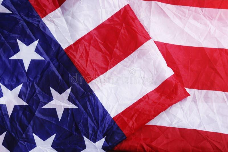 Fondo sbagliato della bandiera di U.S.A. fotografia stock