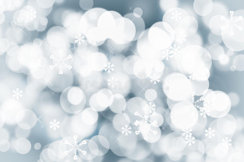 Fondo scintillante di Natale con le luci di fascino fotografia stock libera da diritti