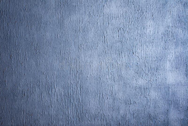 Fondo scuro della parete dello stucco dei bei blu navy decorativi astratti di lerciume immagine stock