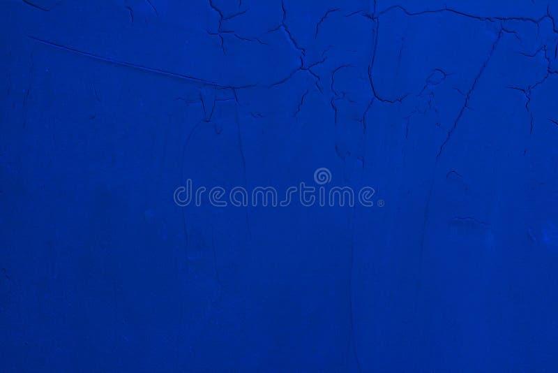 Fondo scuro della parete dello stucco dei bei blu navy decorativi astratti di lerciume E immagini stock libere da diritti