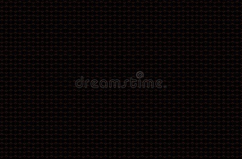 Fondo scuro di lerciume degli ornamenti orientali, o linee colorate t di rosa viola blu marrone grigio marrone rossiccio arancio  illustrazione di stock