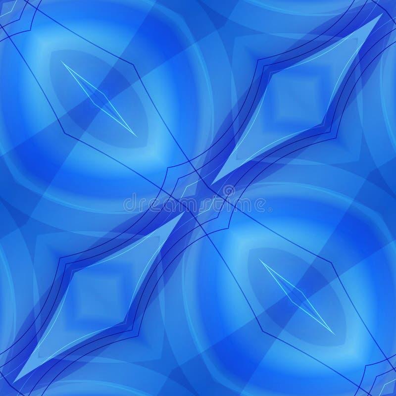 Fondo senza cuciture astratto blu fotografia stock