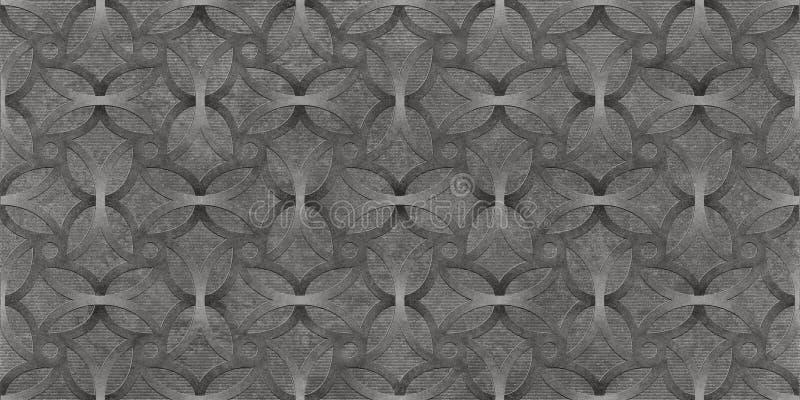 Fondo senza cuciture astratto nero, struttura metallica della carta da parati fotografie stock libere da diritti