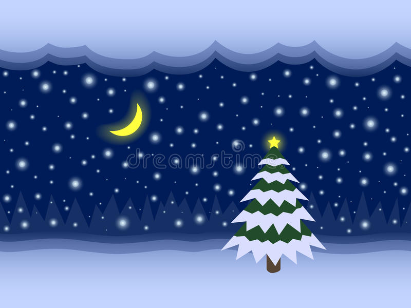 Fondo senza cuciture di vettore leggiadramente del nuovo anno e di Natale illustrazione vettoriale