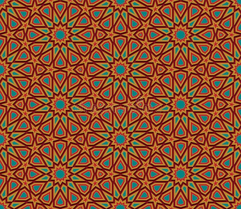Fondo senza cuciture variopinto geometrico astratto royalty illustrazione gratis