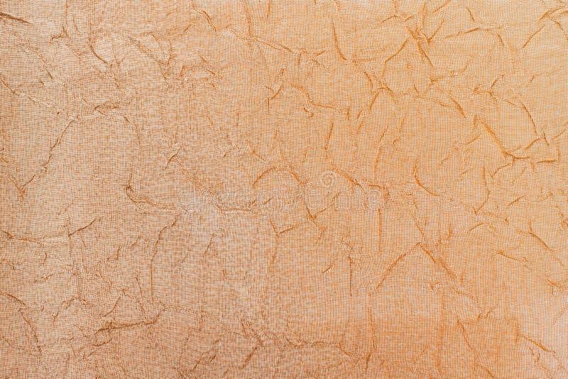 fondo sgualcito Brown-arancio immagine stock
