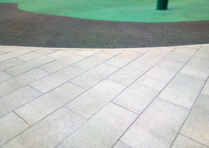 Fondo simétrico del pavimento de la ciudad foto de archivo