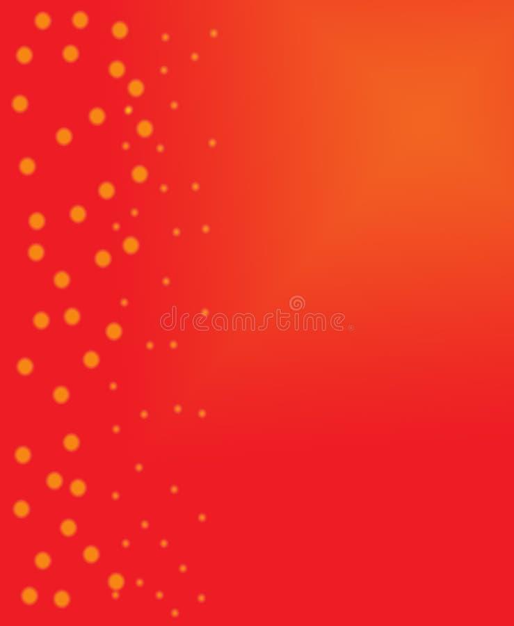 Fondo simple de Navidad ilustración del vector