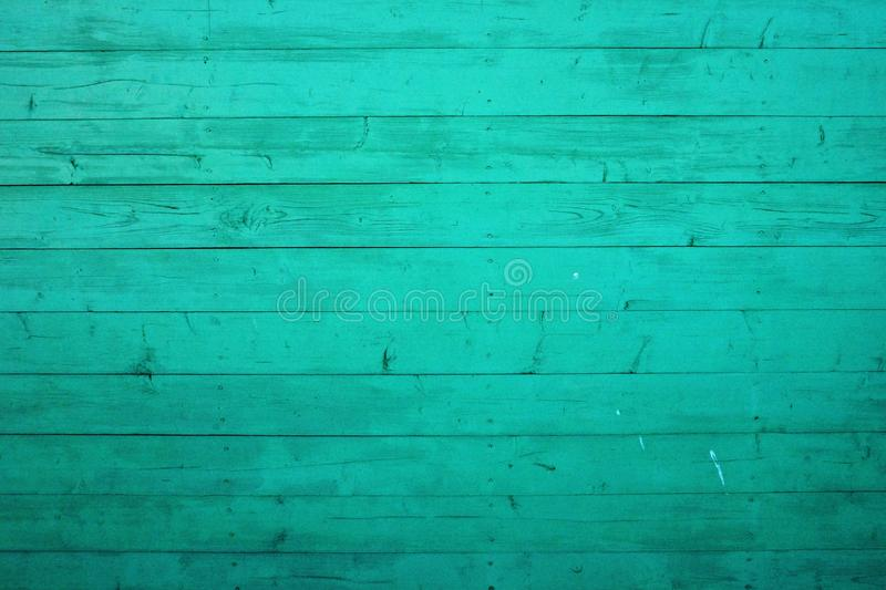 Fondo sin pulir de la textura de madera del trullo Los tablones lamentables pintaron en color verde claro Textura natural de Gung foto de archivo
