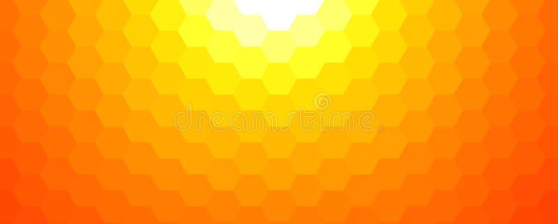 Fondo soleado del mosaico de la primavera ilustración del vector