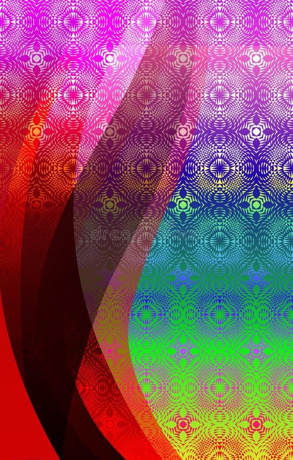 Fondo sombreado texturizado colorido del vector abstracto Ilustración del vector ilustración del vector