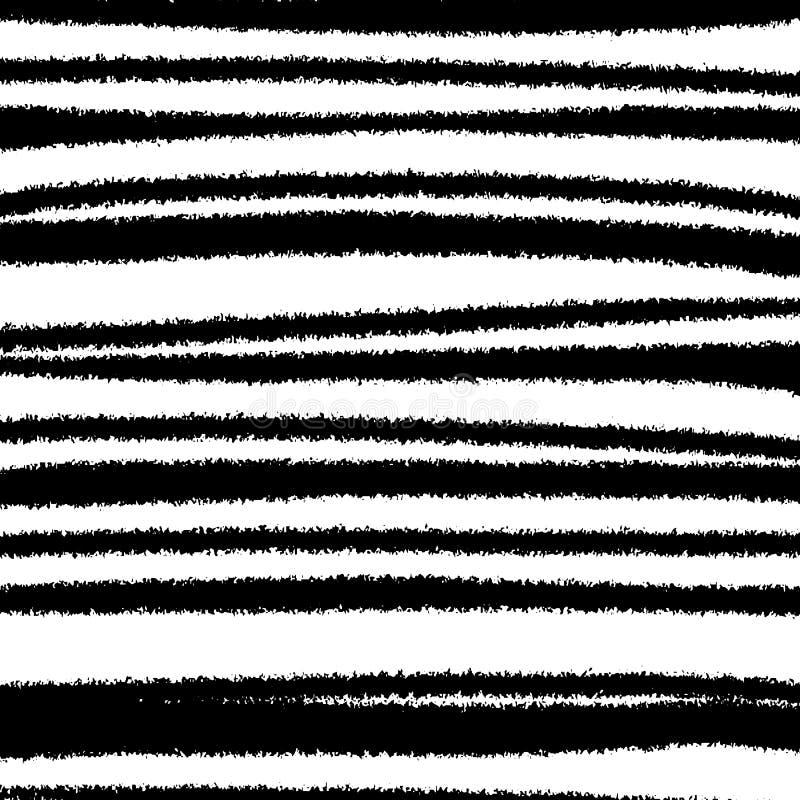 Fondo a strisce in bianco e nero di lerciume royalty illustrazione gratis