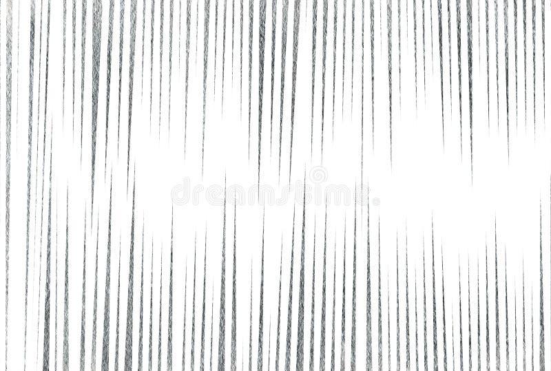 Fondo a strisce d'argento illustrazione di stock