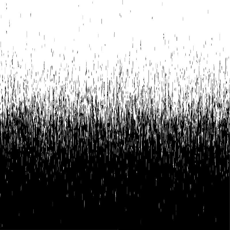 Fondo a strisce di struttura nera del colpo illustrazione vettoriale