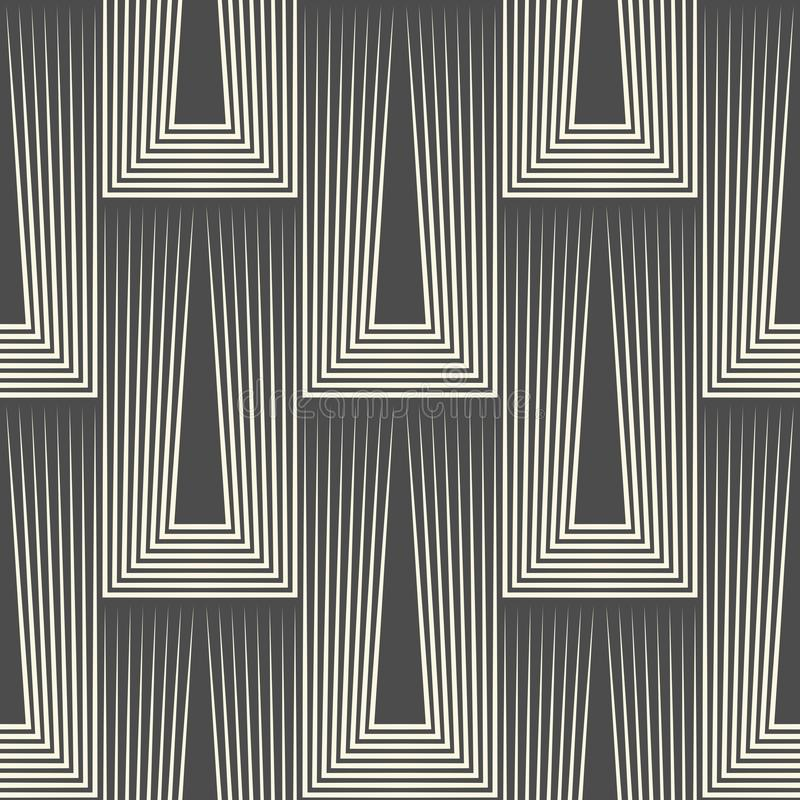Fondo a strisce diagonale astratto Modello minimo senza cuciture illustrazione vettoriale