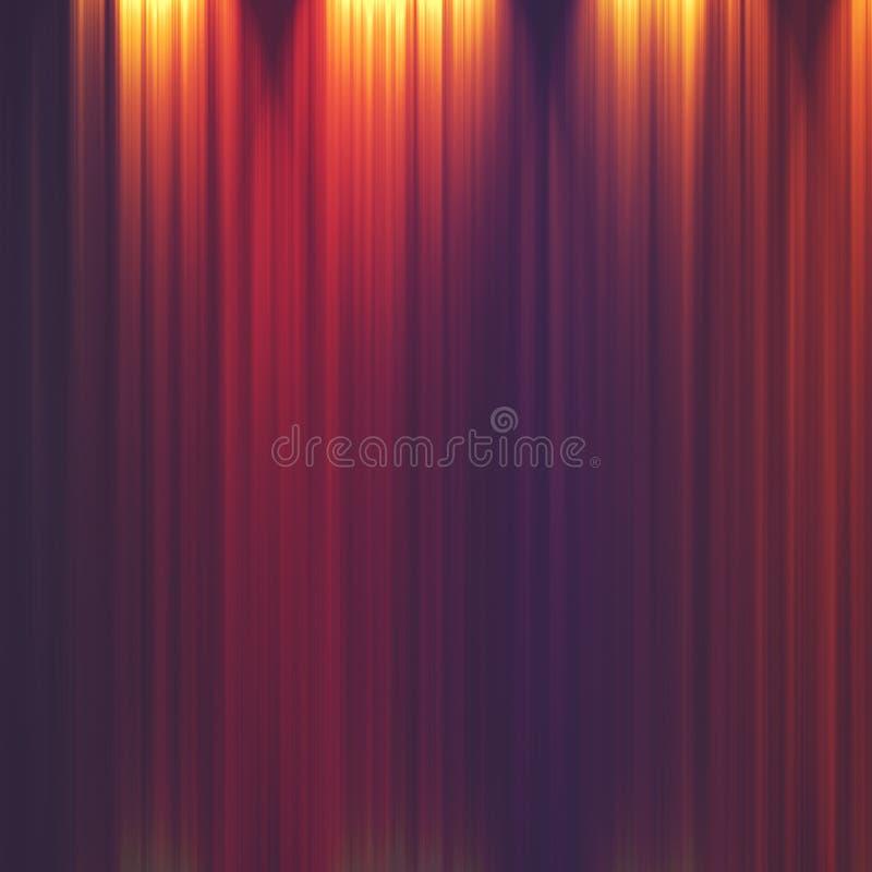 Fondo a strisce illuminato estratto illustrazione vettoriale