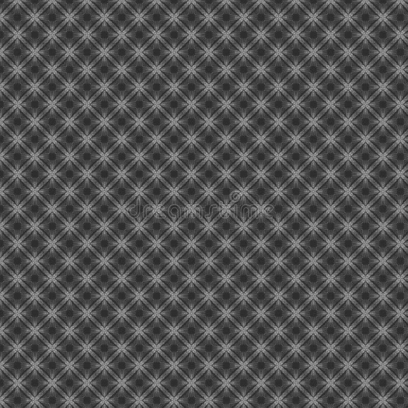 Download Fondo Strutturato Astratto Intrecciato Metallico Nero Del Modello Illustrazione di Stock - Illustrazione di infinito, retro: 117979194