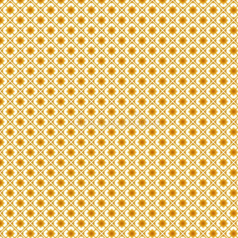 Download Fondo Strutturato Astratto Quadrato Dorato Del Modello Illustrazione di Stock - Illustrazione di annata, tessile: 117979218