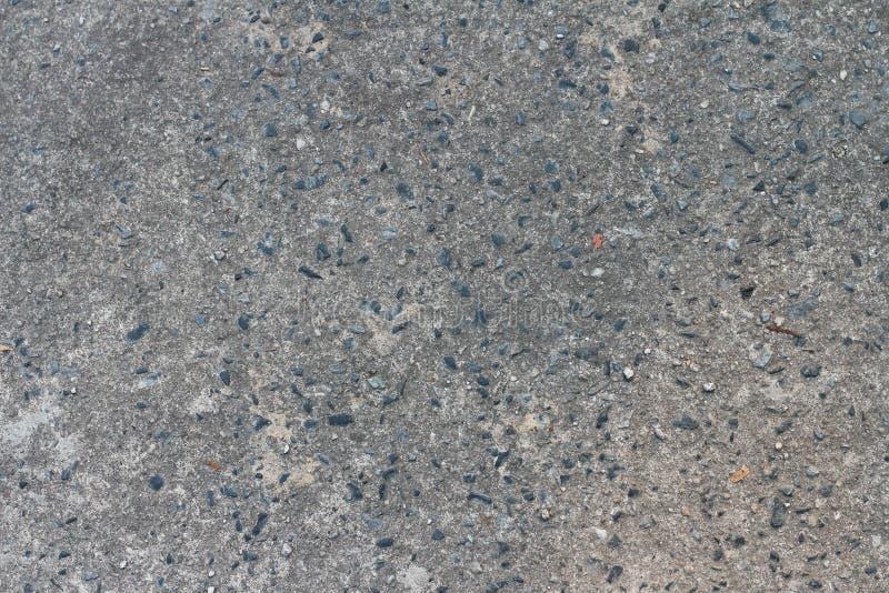 Fondo strutturato del pavimento di Gray Concrete con roccia ruvida fotografia stock