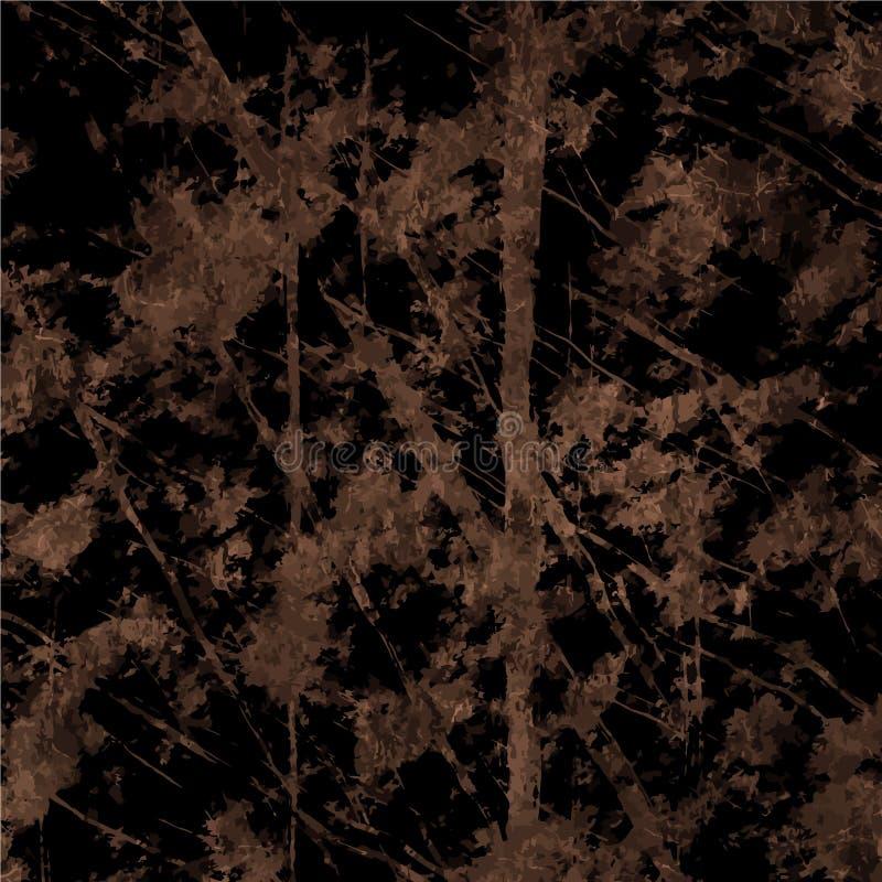 Fondo strutturato della carta d'annata di lerciume di arte con illustrazione vettoriale