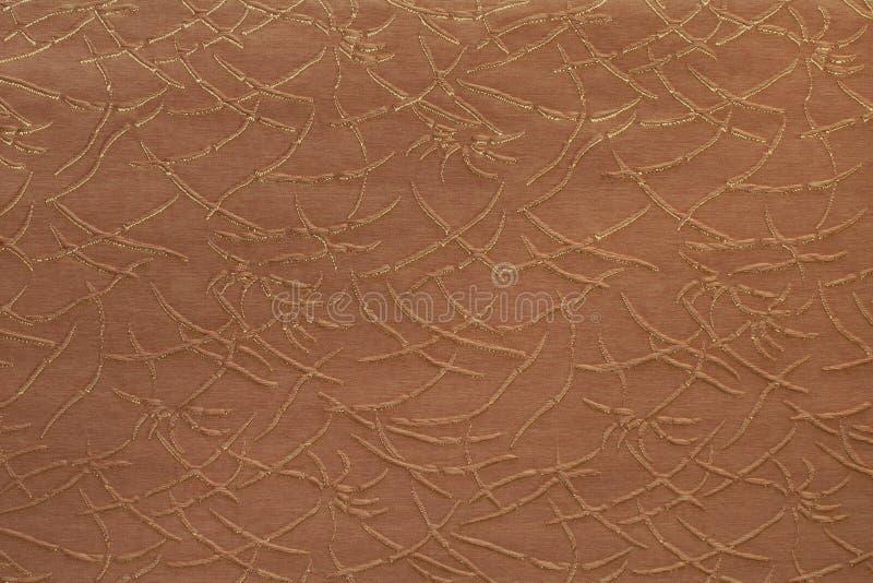 Fondo strutturato di alta risoluzione della tela di tela del tessuto immagine stock libera da diritti