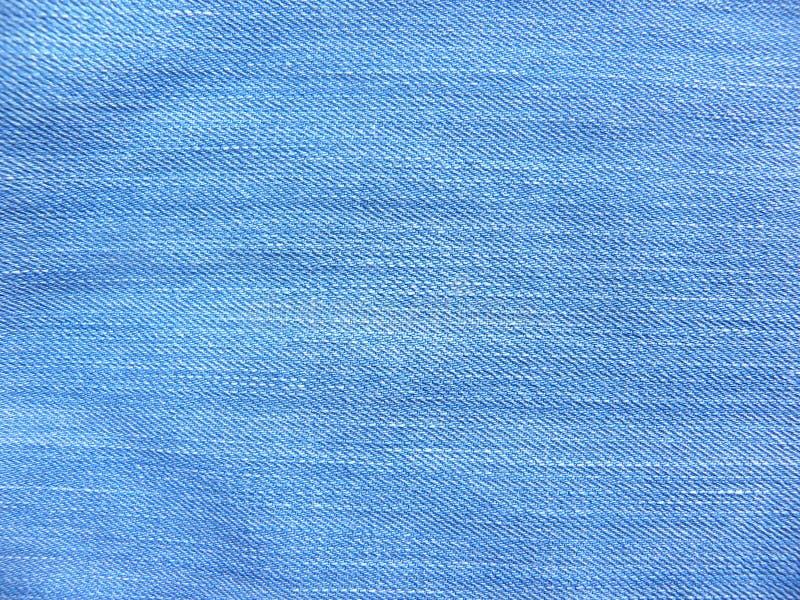 Fondo strutturato di colore del tessuto blu d'annata dei jeans sbiaditi fotografie stock