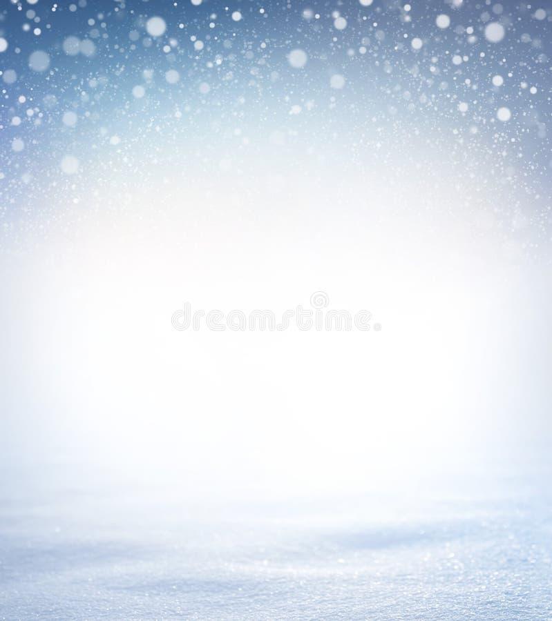 Download Fondo suave de la nieve stock de ilustración. Ilustración de holiday - 100530556
