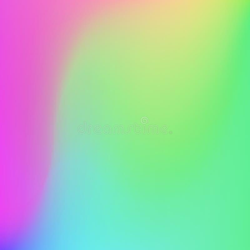 Fondo suave de los colores del extracto brillante de la pendiente Dise?o del vector libre illustration