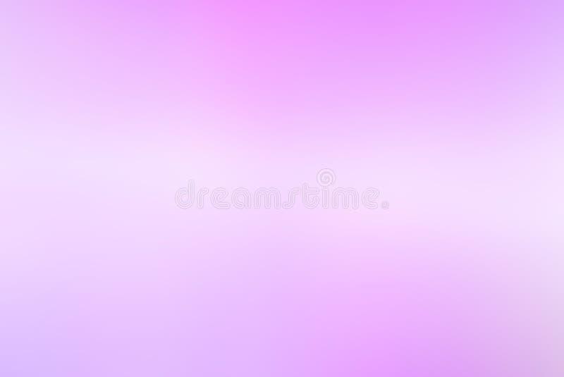 Fondo suave rosado de la pendiente y blanco púrpura del color fotos de archivo