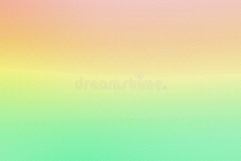 Fondo suave rosado y verde de la pendiente del color fotografía de archivo