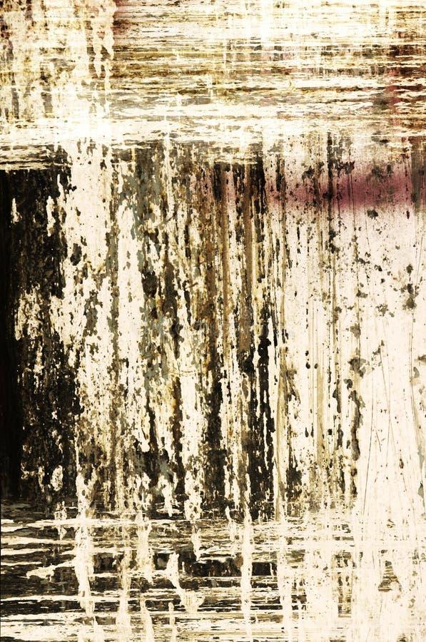 Fondo sucio abstracto stock de ilustración