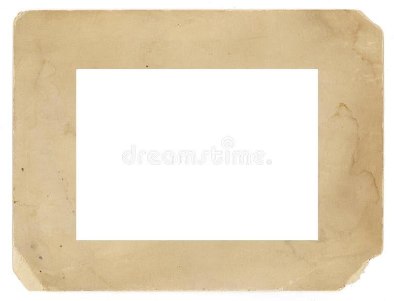 Fondo sucio de la textura del marco de la foto de la vendimia viejo fotos de archivo