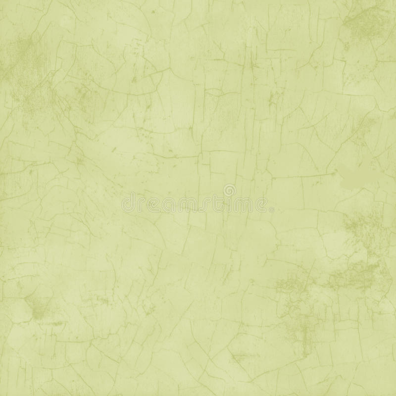 Fondo sucio verde claro del crujido de la pintura fotografía de archivo