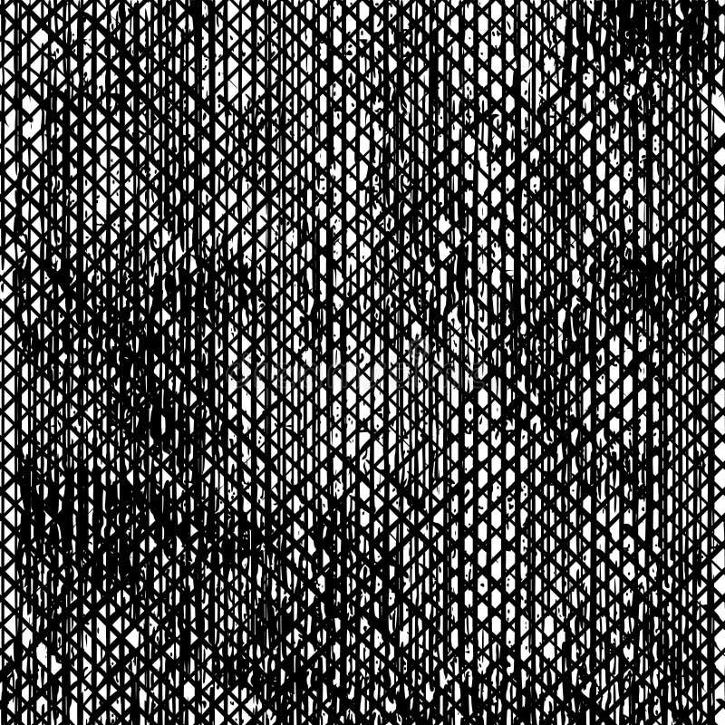 Fondo sudicio della polvere in bianco e nero di lerciume Perfezioni per il manifesto illustrazione di stock