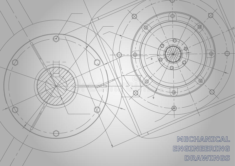 Fondo sujeto del vector Ingeniería industrial libre illustration