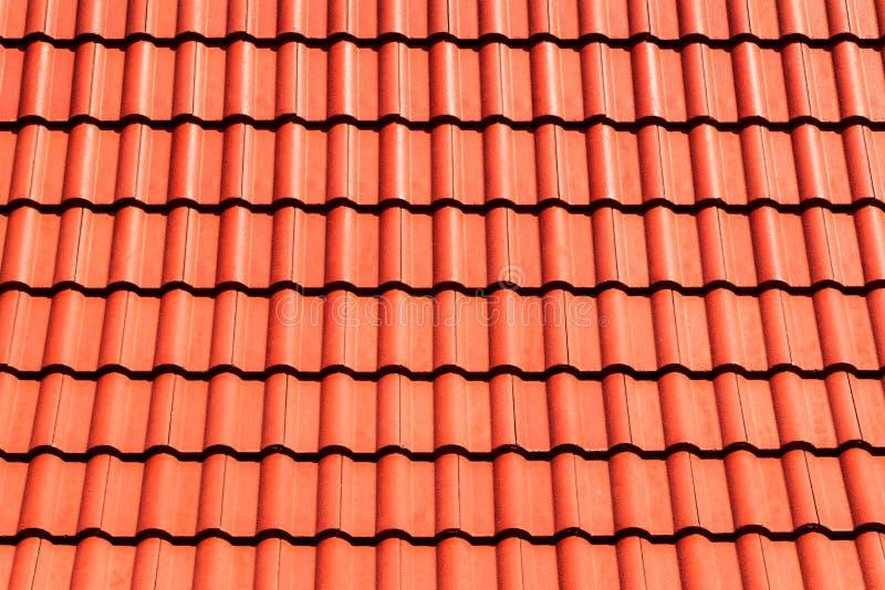 Fondo superiore arancio del tetto immagine stock libera da diritti